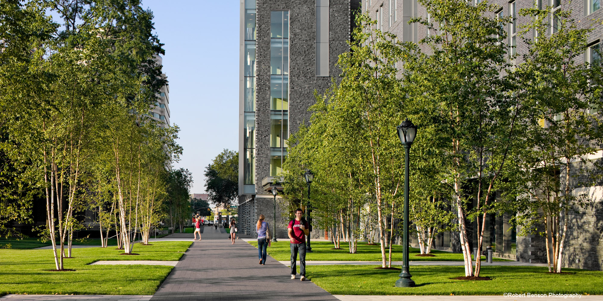 fordham university residential district landscape