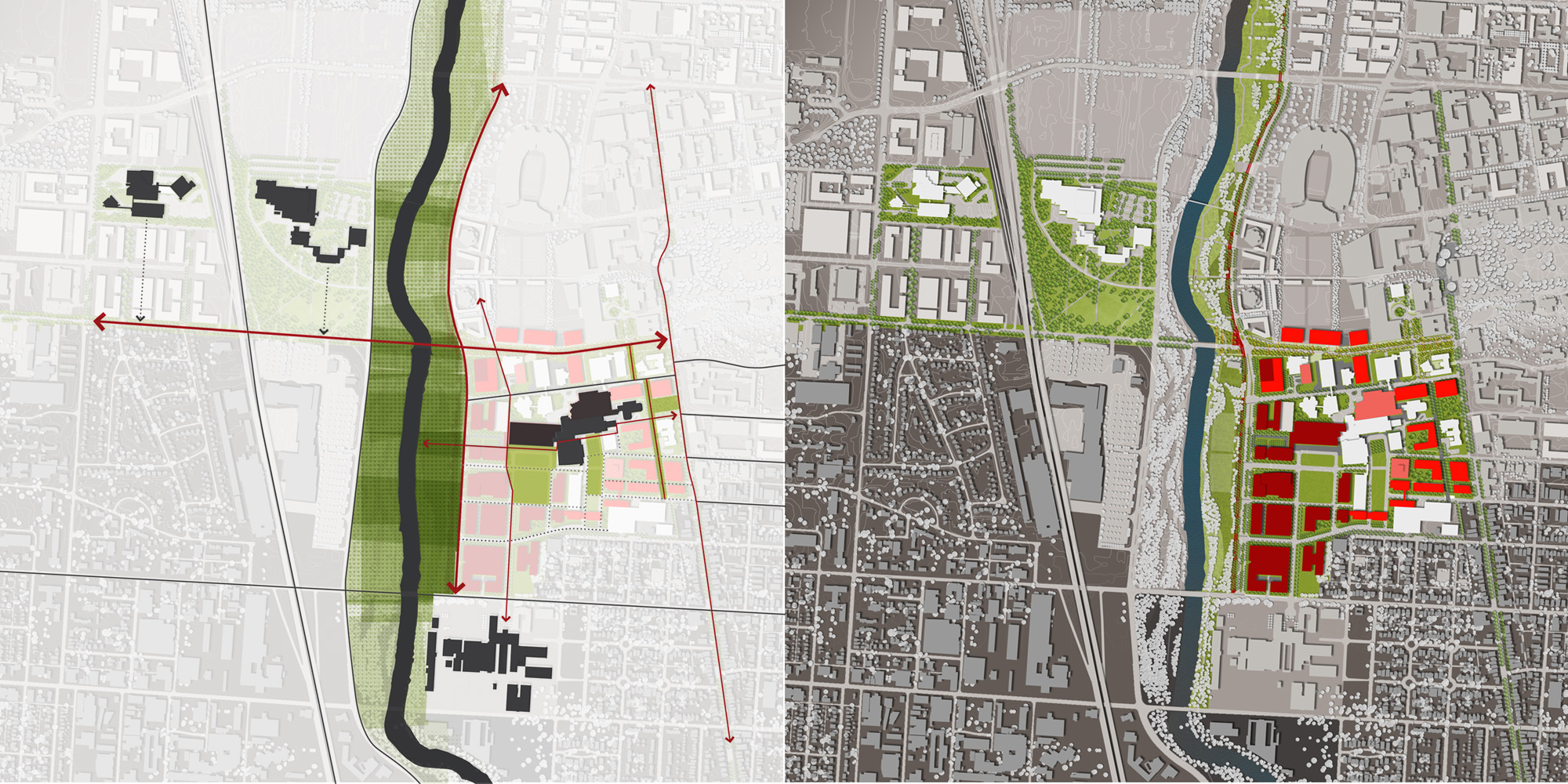 the ohio state university health sciences district plan