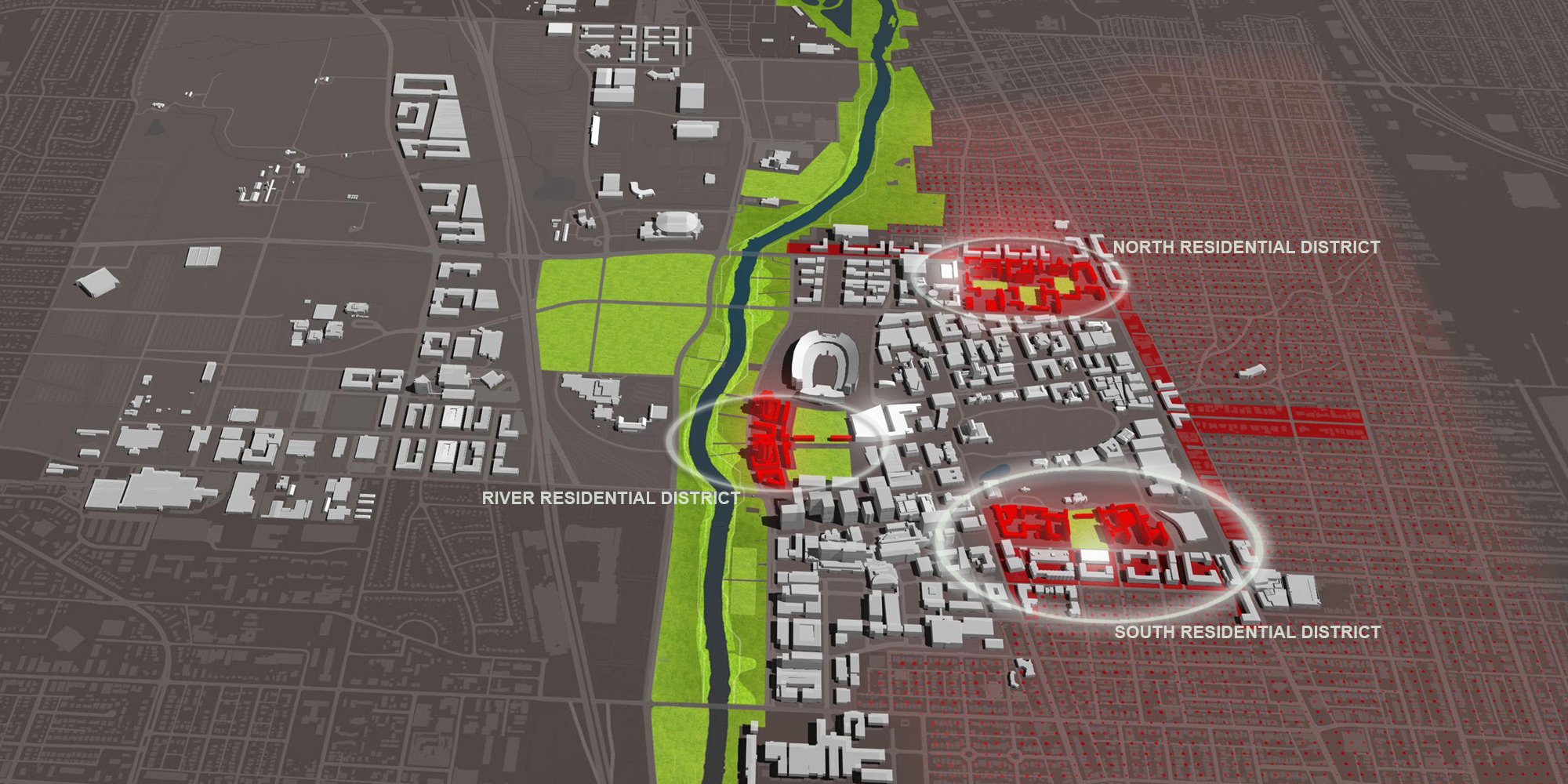 the ohio state university residential life master plan and residential district studies