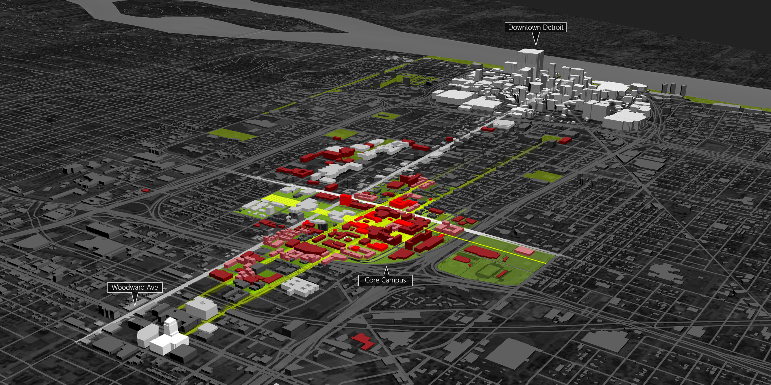 wayne state university campus-wide space analysis and master plan